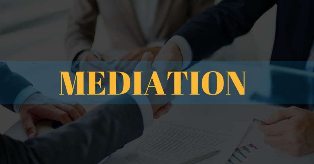 Image of a Mediation Agreement